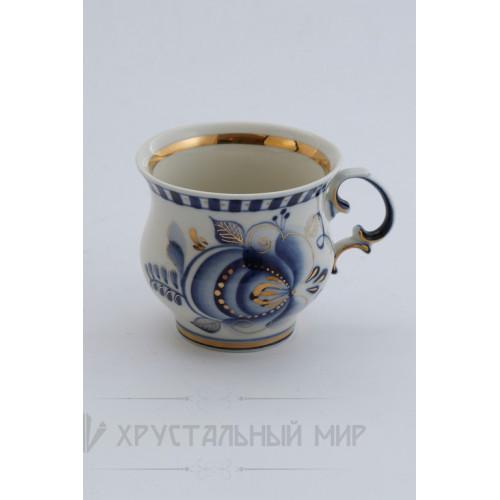 Чашка кофейная в золоте авт. Федотов А.Н.