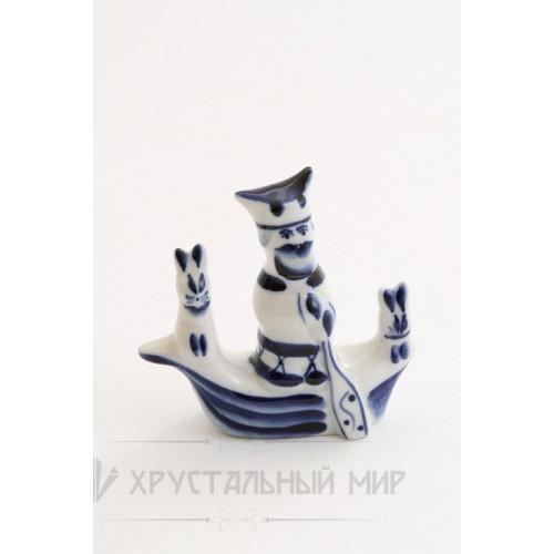 Скульптура Дед Мазай авт. Денисов Г.В.