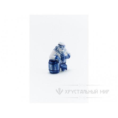 Скульптура Обезьяна с бочкой авт. Голубенков Н.А.