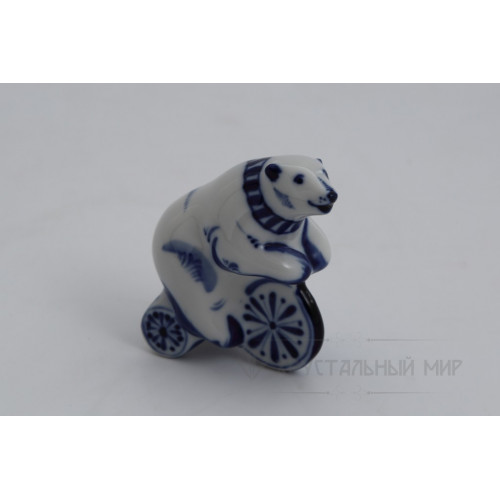 Ск. Медведь на велосипеде
