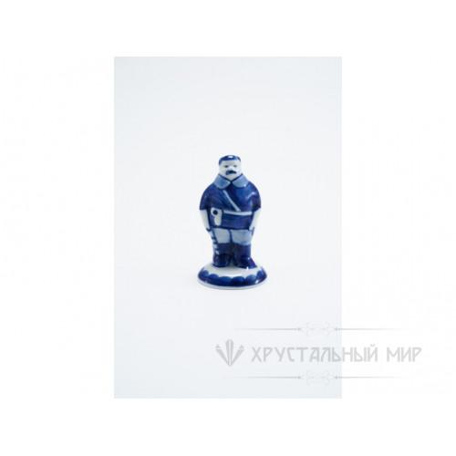 Скульптура Милиционер зимой авт. Федоровская Т.Д.