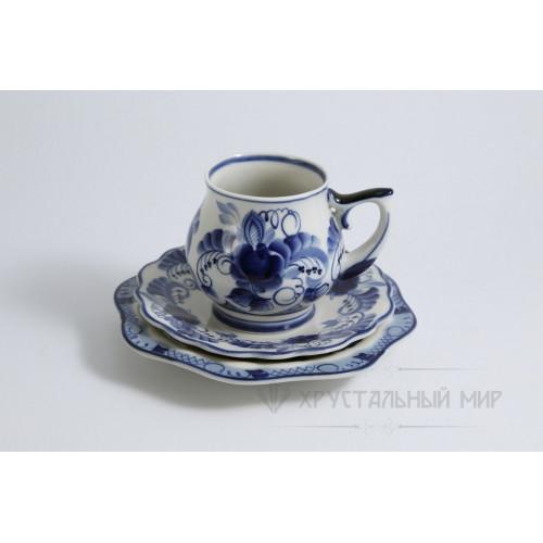 Чайная пара Праздничный авт.Авдонин  В.И. (без десертной тарелки)