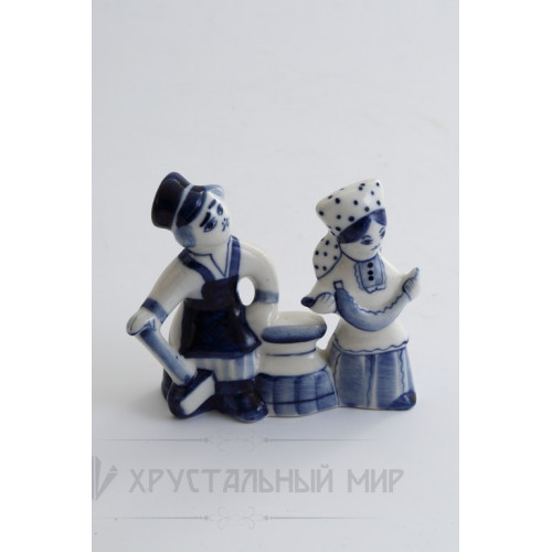 Скульптура Рабочий и колхозница авт. Денисов Г.В.