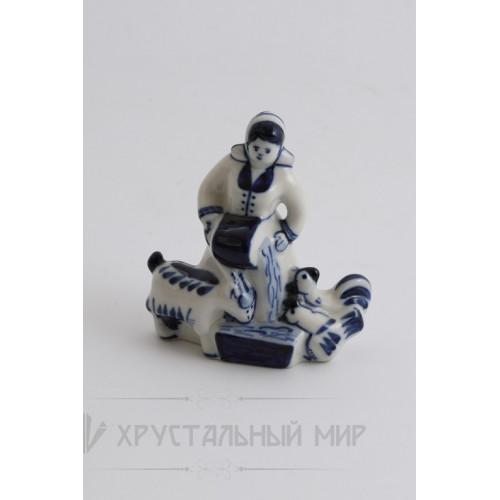 Скульптура Хозяюшка авт. Окулова З.В.