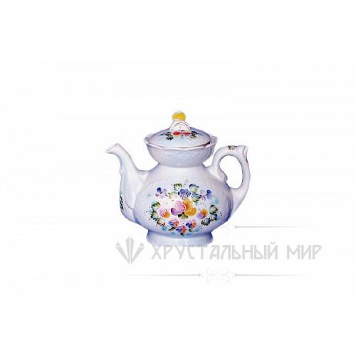 Розовый букет чайник 1 сорт