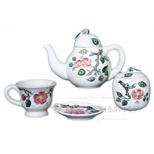 Вишневый сад набор чайный 1 сорт - 14 предметов