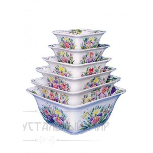 Катя набор салатников (неполный) 1 сорт
